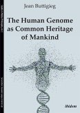 The Human Genome as Common Heritage of Mankind (eBook, ePUB)