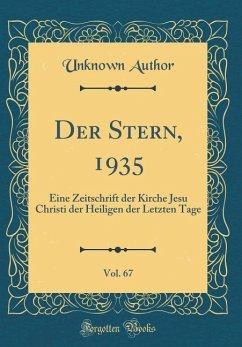 Der Stern, 1935, Vol. 67