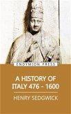A History of Italy 476-1600 (eBook, ePUB)
