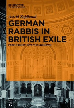 German Rabbis in British Exile (eBook, PDF) - Zajdband, Astrid