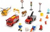 Dickie 203096005 - Feuerwehrmann Sam, Theme Set, Spielset, Mehrteilig, Mehrfarbig