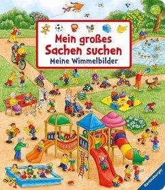 Mein großes Sachen suchen: Meine Wimmelbilder - Gernhäuser, Susanne