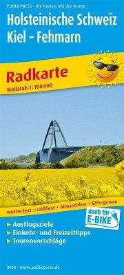 PUBLICPRESS Radkarte Holsteinische Schweiz, Kie...