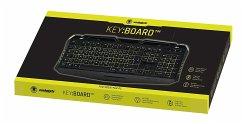 snakebyte KEY:BOARD, PC Tastatur, Gaming-Keyboard, schwarz mit Hintergrundbeleuchtung
