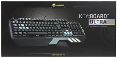 snakebyte KEY:BOARD ULTRA, PC, Mechanische Tastatur, Gaming-Keyboard, schwarz mit Hintergrundbeleuchtung