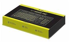 snakebyte KEY:BOARD PRO, PC Tastatur, Gaming-Keyboard, schwarz mit Hintergrundbeleuchtung