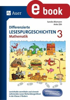 Differenzierte Lesespurgeschichten Mathematik 3 (eBook, PDF) - Blomann, Sandra; Zöh, Anke