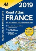 AA Road Atlas France 2019