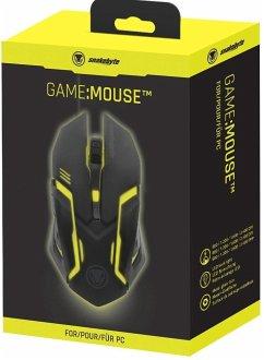 snakebyte GAME:MOUSE, Gaming Maus, schwarz für PC mit Hintergrundbeleuchtung
