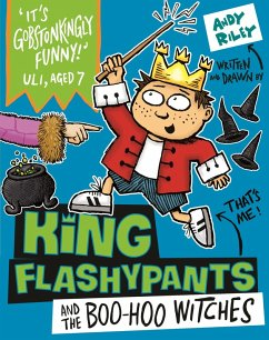 King Flashypants and the Boo-Hoo Witches (eBook, ePUB) - Riley, Andy