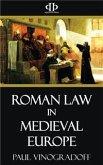Roman Law in Medieval Europe (eBook, ePUB)