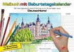 Malbuch mit Geburtstagskalender aus Deutschland