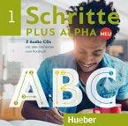 2 Audio-CDs mit allen Hörtexten zum Kursbuch / Schritte plus Alpha Neu .1