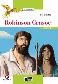 Robinson Crusoe. Buch + Audio-CD - Defoe, Daniel