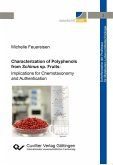 Characterization of Polyphenols from Schinus sp. Fruits. Implications for Chemotaxonomy and Authentication
