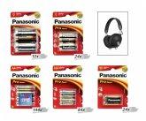 Panasonic Pro Power Paket inkl. Bluetooth Kopfhörer RP-HTX80B