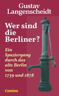 Wer sind die Berliner? - Langenscheidt, Gustav