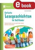 Einfache Lesegeschichten für DaZ-Kinder (eBook, PDF)
