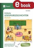 Einfache Lesespurgeschichten Deutsch (eBook, PDF)