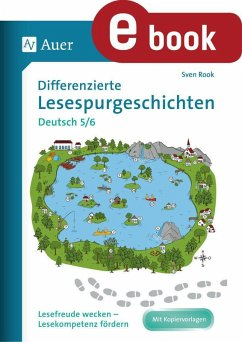 Differenzierte Lesespurgeschichten Deutsch 5-6 (eBook, PDF) - Rook, Sven