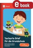 Textsorte Brief für die Grundschule (eBook, PDF)
