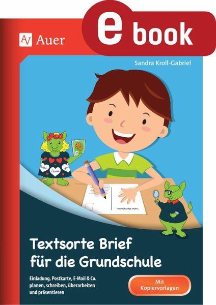 Textsorte Brief Für Die Grundschule Ebook Pdf Von Sandra Kroll
