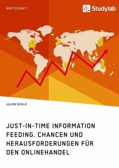 Just-in-Time Information Feeding. Chancen und Herausforderungen für den Onlinehandel - Schild, Julien