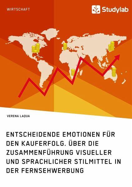 Entscheidende Emotionen für den Kauferfolg. Über die Zusammenführung visueller und sprachlicher Stilmittel in der Fernsehwerbung - Laqua, Verena