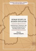 Human Rights in Higher Education