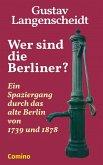 Wer sind die Berliner? (eBook, ePUB)