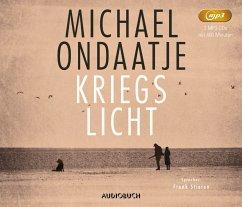 Kriegslicht, 2 MP3-CDs - Ondaatje, Michael