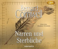 Narren und Sterbliche, 2 MP3-CDs - Cornwell, Bernard
