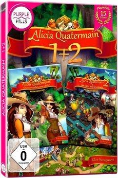 Purple Hills: Alicia Quatermain 1+2 (Klick-Management-Spiel)