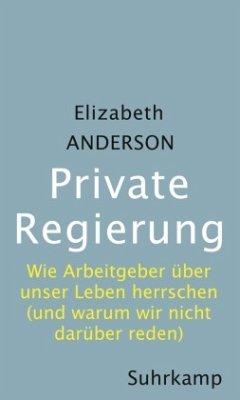 Private Regierung - Anderson, Elizabeth