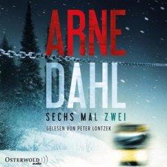 Sechs mal zwei / Berger & Blom Bd.2 (2 MP3-CDs) - Dahl, Arne