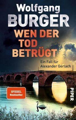 Buch-Reihe Kripochef Alexander Gerlach von Wolfgang Burger