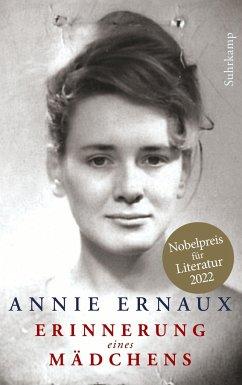 Erinnerung eines Mädchens - Ernaux, Annie