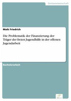 Die Problematik der Finanzierung der Träger der freien Jugendhilfe in der offenen Jugendarbeit (eBook, PDF) - Friedrich, Maik