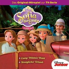 Disney/Sofia die Erste - Folge 18: Königlicher Urlaub/Camp Wildnis-Wald (MP3-Download) - Arnold, Monty