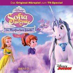Disney/Sofia die Erste - Folge 19: Die Mystischen Inseln Teil 1 + 2 (MP3-Download) - Arnold, Monty