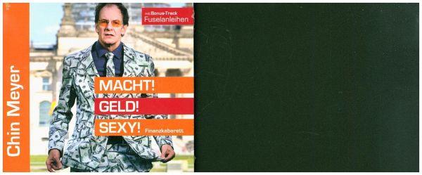 Macht! Geld! Sexy!, 1 Audio-CD - Meyer, Chin