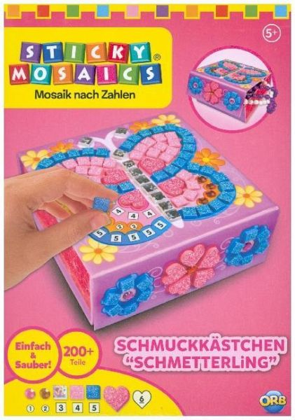 Sticky Mosaics Mini Schmuckkästchen