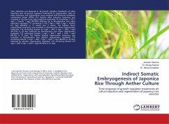 Indirect Somatic Embryogenesis of Japonica Rice...