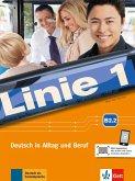 Linie 1 B2. Kurs- und Übungsbuch Teil 2 mit Audios und Videos