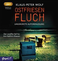 Ostfriesenfluch / Ann Kathrin Klaasen ermittelt Bd.12 (2 MP3-CDs) - Wolf, Klaus-Peter