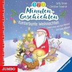 1-2-3 Minutengeschichten - Kunterbunte Weihnachten, 2 Audio-CDs