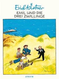 Emil und die drei Zwillinge - Kästner, Erich