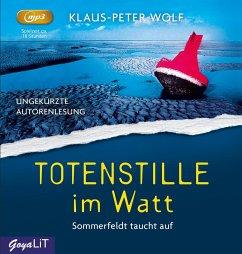 Totenstille im Watt / Dr. Sommerfeldt Bd.1 (2 MP3-CDs) - Wolf, Klaus-Peter
