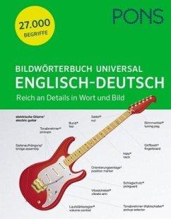 PONS Bildwörterbuch Universal Englisch-Deutsch