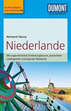 DuMont Reise-Taschenbuch Reiseführer Niederlande - Tiburzy, Reinhard